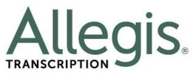 Allegis Transcription