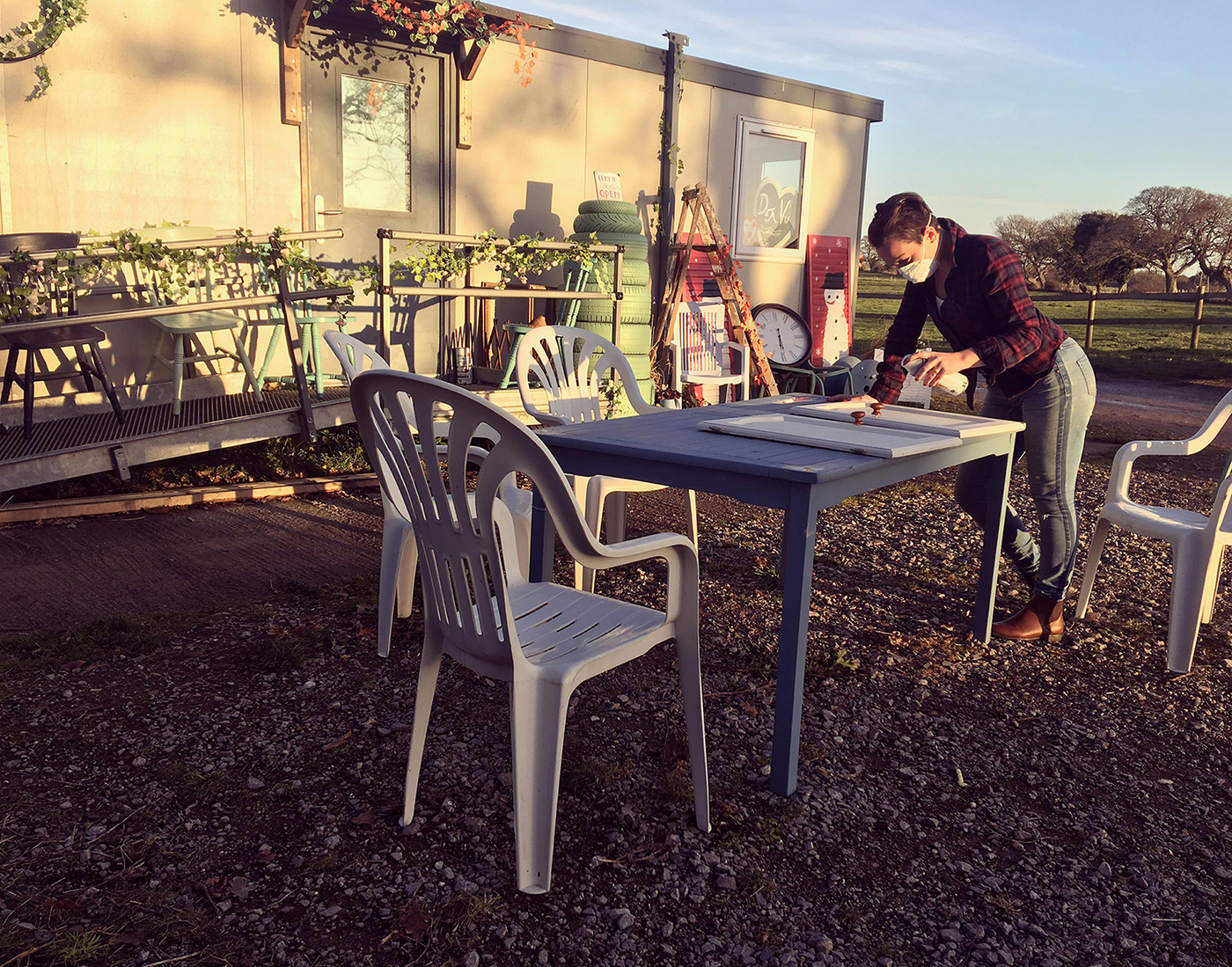Deja Vu Upcycling Moves To Big Home In The Country