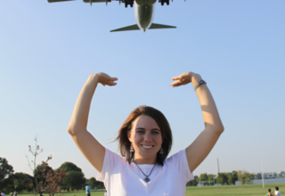 This park near Reagan National in DC is great for plane watching