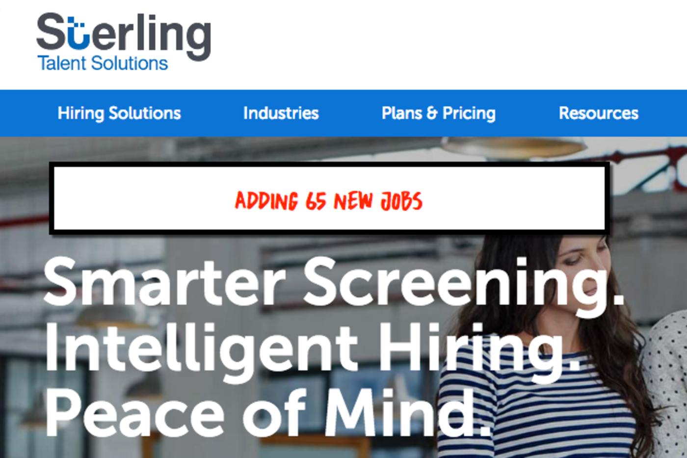 Sterling Talent Solutions to add 65 New Jobs Near Cleveland
