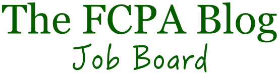 The FCPA Blog Job Board