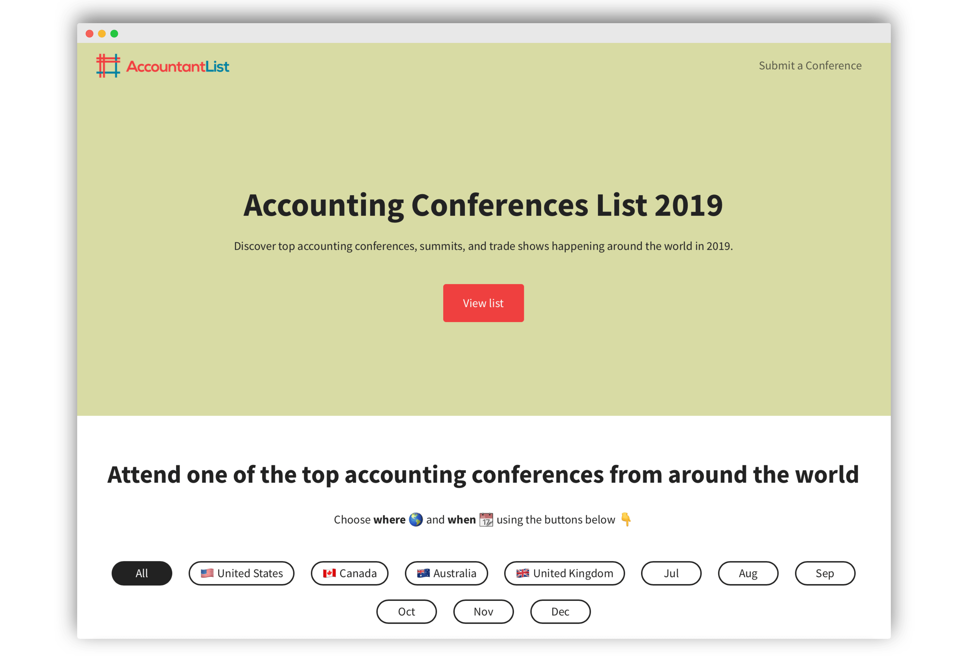The Ultimate List of Top Accounting Conferences in 2019