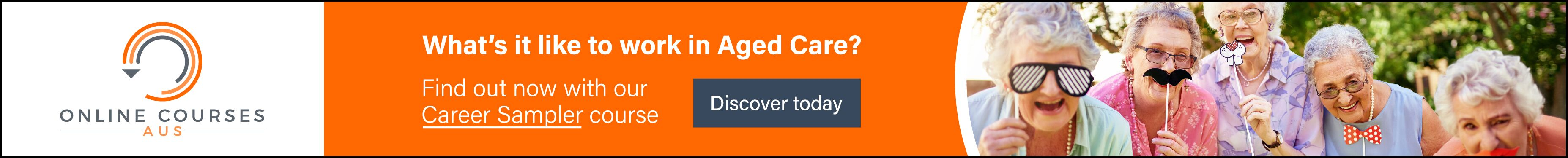Search for jobs in the Aged Care, Disability Care, Community Care