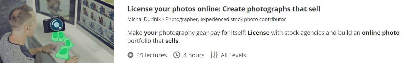 learn how to sell your photos online course